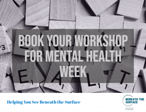 Book Your Mental Health Week Event For 2019!