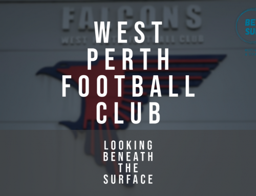 West Perth Football Club and Beneath the Surface